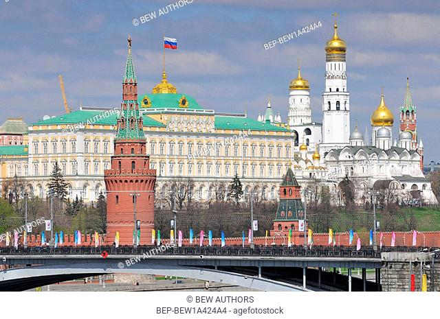 Russia, Moscow, The Annunciation Cathedral, Moscow, Kremlin