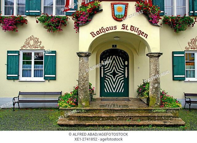 City Hall, St. Gilgen, Salzkammergut, Austria