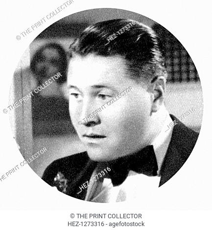 Jack Oakie, American actor, 1934-1935. Born Lewis Delaney Offield, Oakie is best remembered for his role as Benzino Napaloni