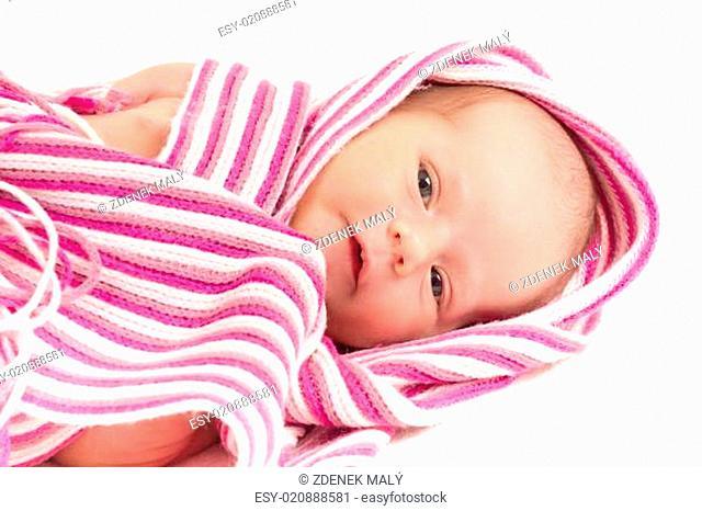 watching newborn baby