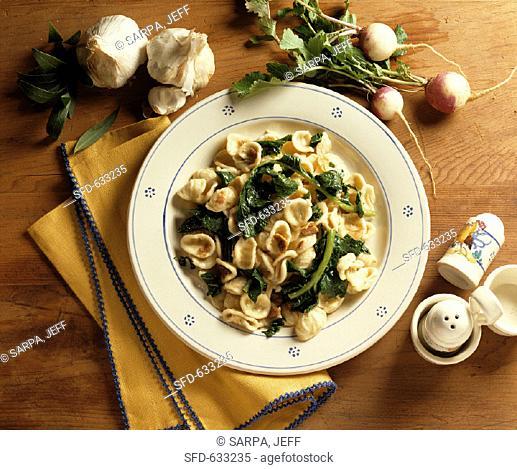 Orecchiette Pasta with Greens