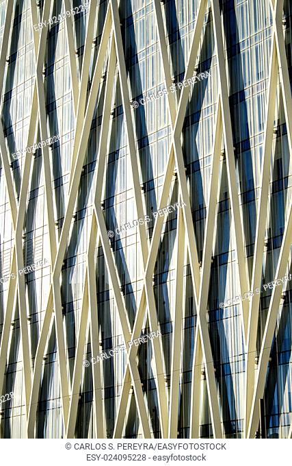 Telefonica's building, Forum site, Barcelona, Catalonia, Spain