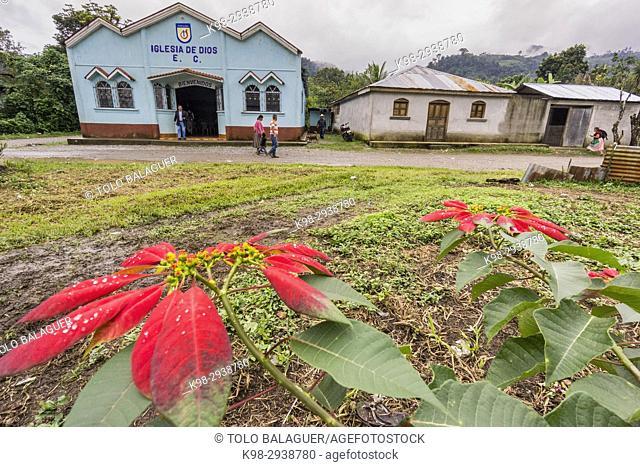iglesia evangelica, Lancetillo, La Parroquia, zona Reyna, Quiche, Guatemala, Central America
