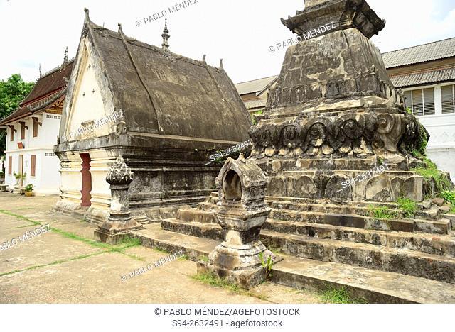 Wat Ho Pha Bang of Luang Prabang, Laos