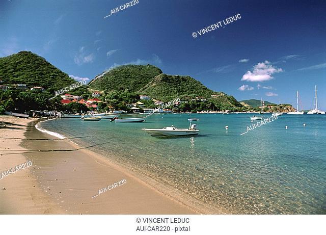 French Caribbean - Caribbean Islands - Les Saintes - Terre de Haut - Little Cove