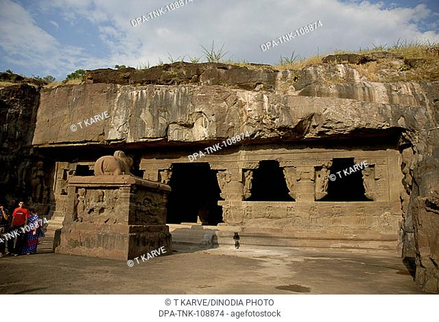 Cave no. 17; Ellora ; Aurangabad; Maharashtra ; India