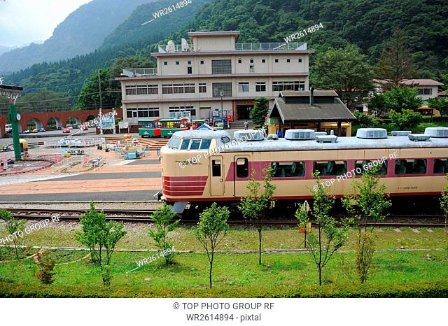Cultural Village,Railroad,Usui,Gunma,Japan