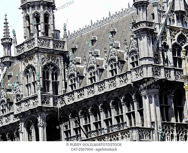 Maison du Roi. Grand Place, Brussels, Belgium
