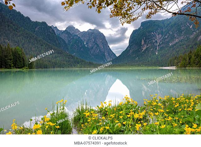 Dobbiaco / Toblach, South Tyrol, Italy, Dobbiaco Lake