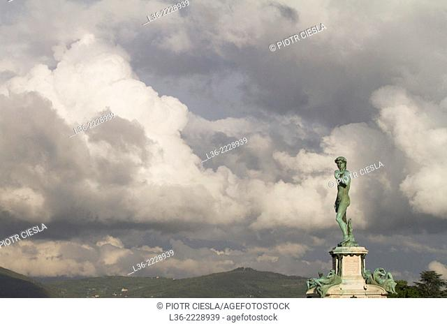 Florence Piazzale Michelangelo Statue of David