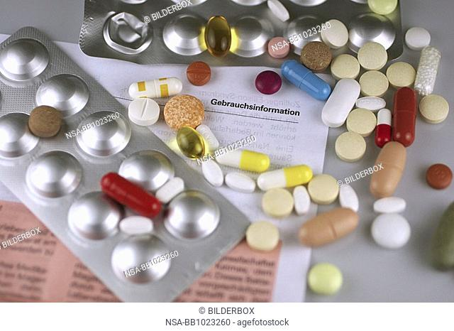 tablets and package leaflet