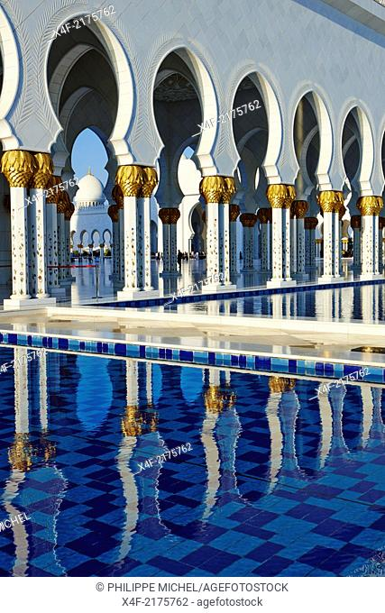 United Arab Emirates, Abu Dhabi, Sheikh Zayed Grand Mosque