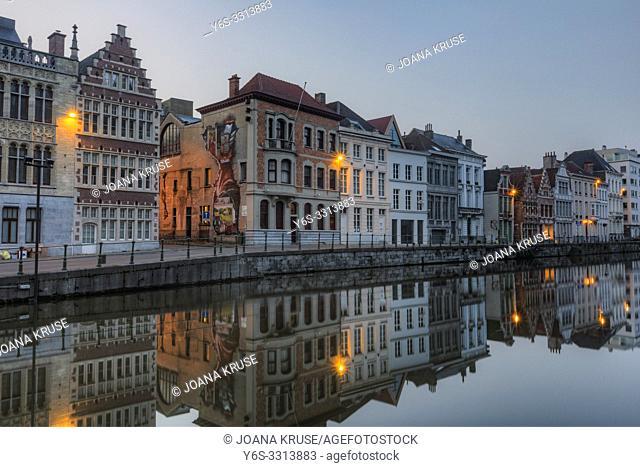 Ghent, East Flanders, Belgium, Europe