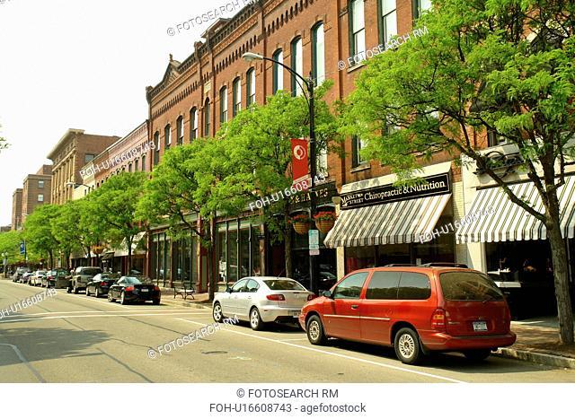 Corning, NY, New York, Historic Downtown