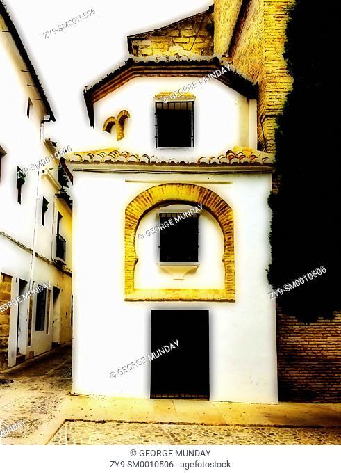 Old Moorish Facade and entrance,