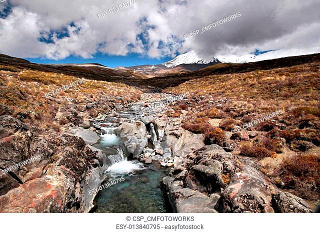 Creek in the Tongariro National Park