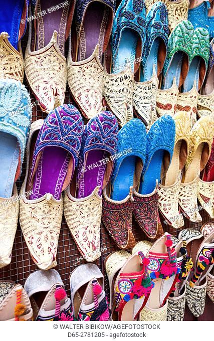 UAE, Dubai, Deira, souvenir traditional slippers
