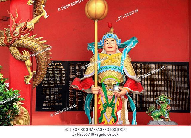Malaysia, Kuala Lumpur, Chinatown, Guandi Temple,