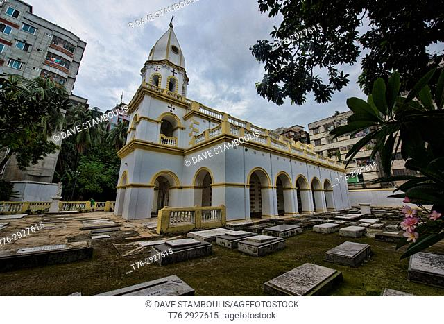The Armenian Church of the Holy Resurrection, Dhaka, Bangladesh
