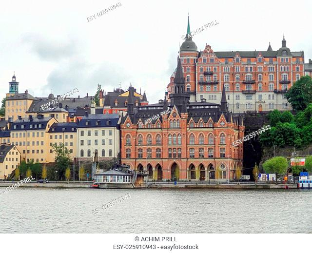 city view of stockholm,the capital of sweden