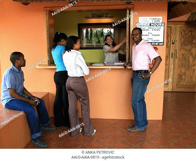 Reception area at Jackalberry Ridge, Marloth Park, Mpumalanga, South Africa
