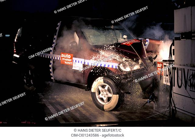 Car, Security, Crash tests, Mercedes ML320, Air bag