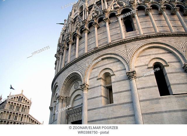 Baptisterium, Pisa, Italy