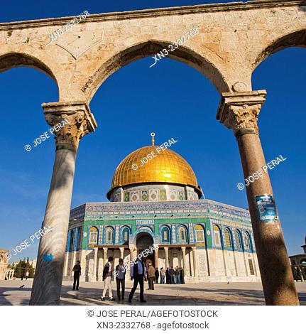Dome of the Rock, Temple Mount, Old City Jerusalem, Israel