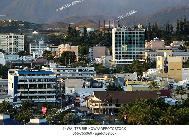 New Caledonia - Grande Terre Island - Noumea - Town View at sunset