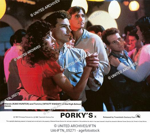 Porky's, USA 1982, Regie: Bob Clark, Darsteller: Kakai Hunter, Wyatt Knight