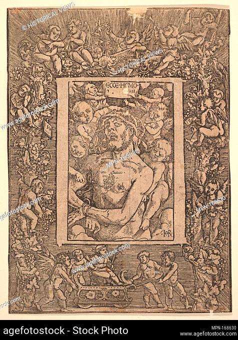 Ecce Homo. Artist: Hans Baldung (called Hans Baldung Grien) (German, Schwäbisch Gmünd (?) 1484/85-1545 Strasbourg (Strassburg)); Date: 1511; Medium: Woodcut;...