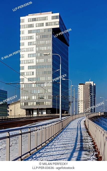 Housing estates, Tramways, Bratislava - Petrzalka