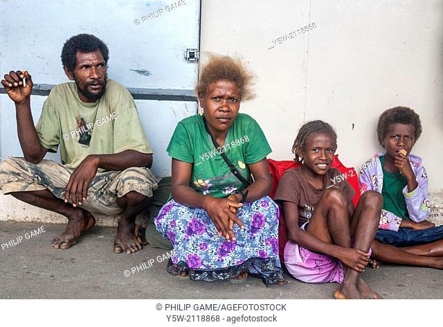 Solomon Islanders, Honiara