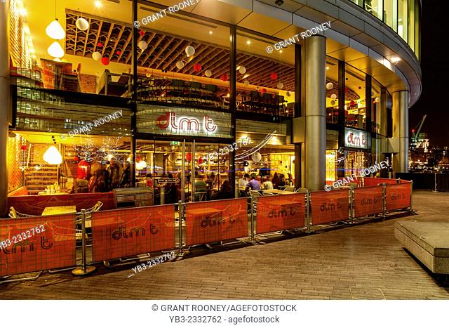 The Dim T Restaurant, More London Riverside Development, London, England