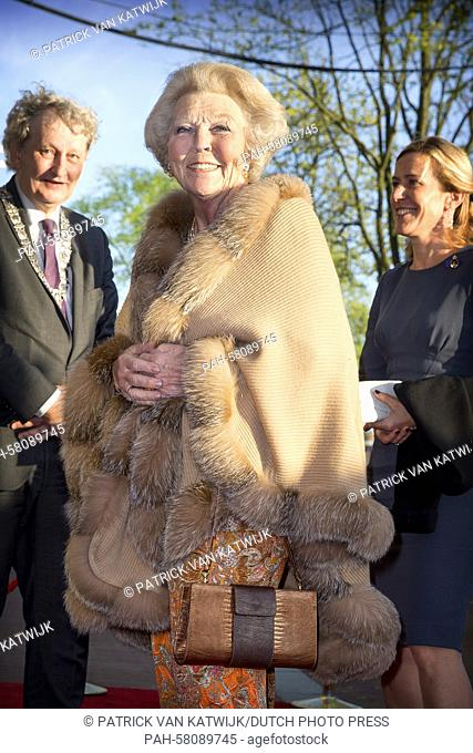 Princess Beatrix of The Netherlands attend the liberation concert on the Amstel river in Amsterdam, The Netherlands, 5 May 2015