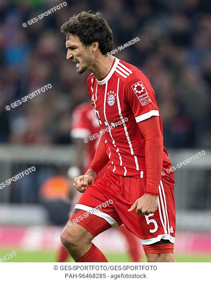 Mats HUMMELS (FC Bayern) frustratedriert after vergebener goalchance. GES/ Fussball/ 1. Bundesliga: FC Bayern Munich - RB Leipzig, 28.10