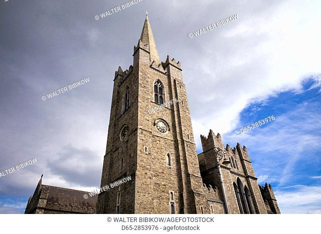 Ireland, Dublin, St. Patrick's Cathedral, exterior