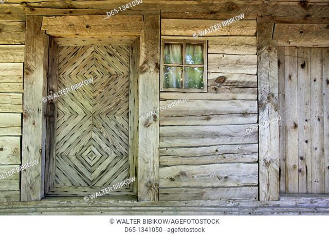 Lithuania, Western Lithuania, Curonian Spit, Smiltyne, Ethnographic Sea Fishermen's Farmstead