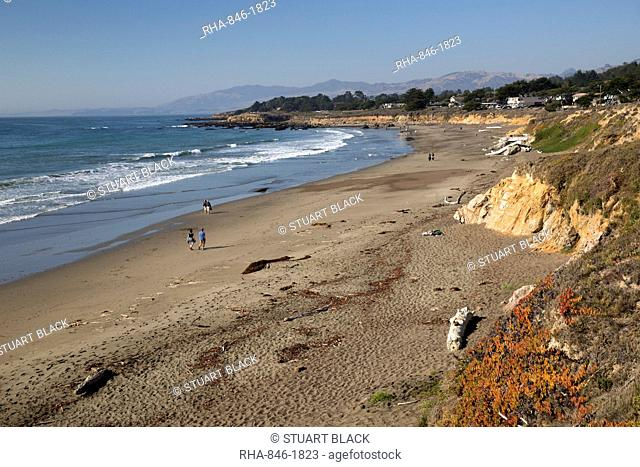 Moonstone Beach Park, Cambria, San Luis Obispo county, California, United States of America, North America
