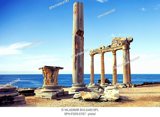The Temple of Apollo, Side, Turkey