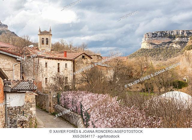 Quintanilla-Escalada village, Paramos region, Burgos, Spain