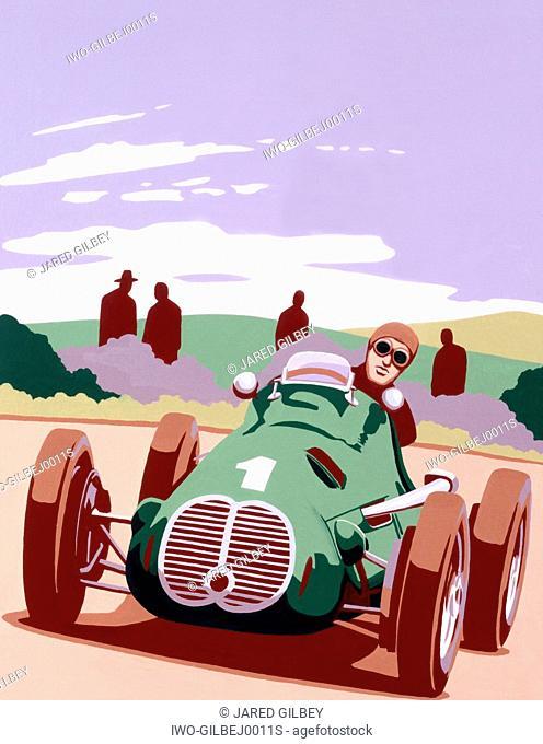 20s Car Racing