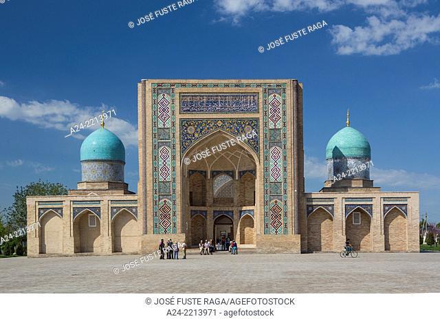 Tashkent City, Uzbekistan, Hazrat Imam Complex. Moyie Mubarak Library and Museum