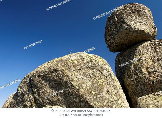 Rocks, Pico de La Miel, La Cabrera, Madrid, Spain