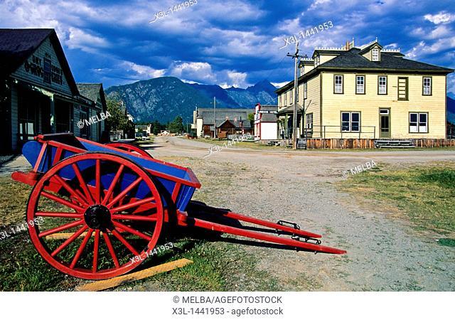 Fort Steele Heritage Town  British Columbia  Canada