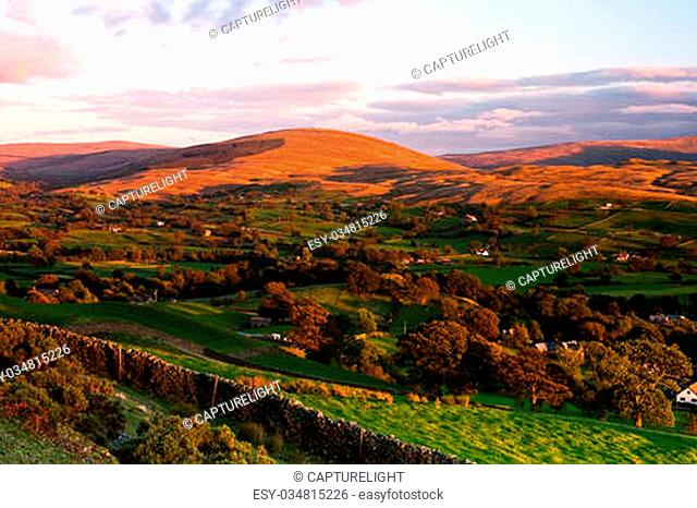 Sedbergh - small town in Yorshire Dales National Park