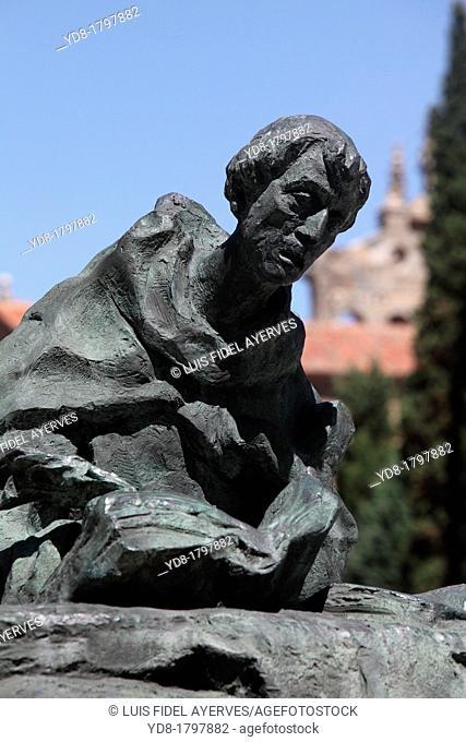Monument to San Juan de la Cruz, Salamanca, Castilla y Leon, Spain, Europe