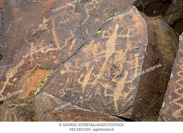Greaser Petroglyphs, Lakeview District Bureau of Land Management, Oregon