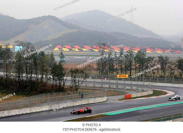 Friday Practice 2, Timo Glock GER, Marussia Virgin Racing VR-02, F1, Korean Grand Prix, Yeongam, Korean