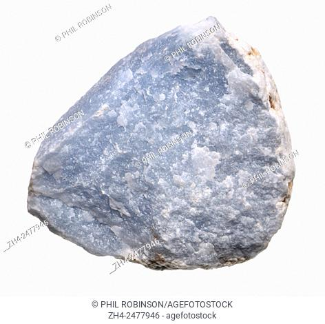 Angelite (blue form of Anhydrite - calcium sulphate)